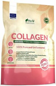 A Collagen Powder 600g Protein High Grade Unflavoured Hydrolysed Collagen Made