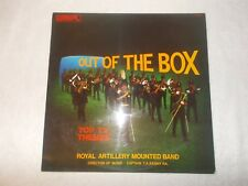 LP Vinyl 12 inch Record Album Royal Artillery Mounted Band TV Themes Out of Box