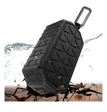 Water Resistance IP66 BT Speaker, Rugged outdoor use, up to 24 hour play, Black