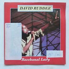 DAVID RUDDER Bacchanal lady  886325 7 REGGAE