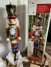 More details for large wooden nutcracker christmas