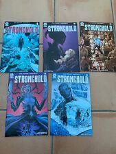 Stronghold #1, 2, 3, 4 & 5. Phil Hester. 1st print. NM.
