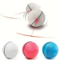 1x Pet Cat Dog Teaser Exercise LED Light Ball Automatic Toy  Gift