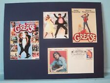 "John Travolta & Olivia Newton-John in ""Grease"" & his own Commemorative Cover"