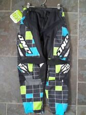 """One Industries Youth/Kids Carbon Pants 26"""" Test Pattern Black/Green MX/Motocross"""