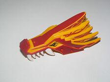 Lego ® Tête Masque Dragon Animal Bionicle Head Red & Orange ref 93070
