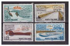 ITALIA 1956 - OLIMPIADI CORTINA  SERIE   NUOVA **