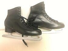 Vintage, Figure 8's, Black, Ice Skates, Size 10