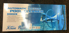 XtremepowerUS 75037 Climb Wall Pool Cleaner Automatic Suction Vacuum Blue