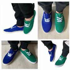 scarpe uomo da ginnastica colore verde blu sneakers uomo  misura 40-45 mapleaf
