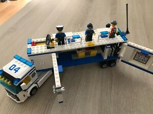 Lego City Police Camion 60044 avec Personnages COMPLET