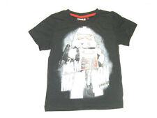 T-shirts, débardeurs et chemises noirs en 8 ans pour garçon de 2 à 16 ans en 100% coton