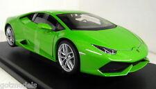 Nex models 1/18 Scale 18049W Lamborghini Huracan bright green diecast model car