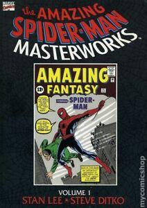 Amazing Spider-Man Masterworks TPB #1-1ST FN 1992 Stock Image