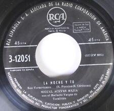 Hear! Latin Jazz 45 Miguel Aceves Mfjia - La Noche Y Tu / Mi Derrota On Rca