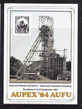 South Africa National Philatelic Exhibition Aupex'84 Aufu Sheetlet Muh