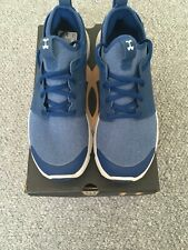 Mens Under Armour Drift Trainers. Blue. UK Size 7.5