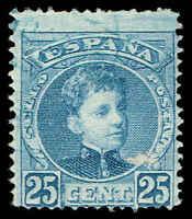 Scott # 279 - 1900 - ' King Alfonso XIII '