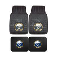 Buffalo Sabres NHL 2pc and 4pc Mat Sets - Heavy Duty-Cars, Trucks, SUVs