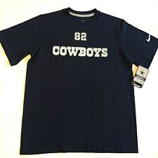 DALLAS COWBOYS Jason Witten #82 NIKE NFL Official T-Shirt YOUTH XL Navy Blue NWT