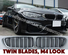 BMW 4 f32/f33/f36/f82/f83 coupe/convertible double slat,m4 look grill,CHROME RIM