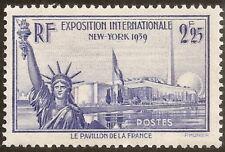 N° 426 Expo New York 1939, neuf ** superbe cote 20€, proposé à 20% de la cote