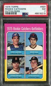 1975 Topps #620 Gary Carter Rookie! PSA 7 NM