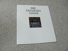 1985 MITSUBISHI GALANT (USA) SALES BROCHURE.