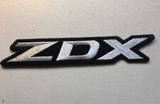 """Acura ZDX High Quality Embroidered Patch Honda 7.25"""" x 1.25"""" Black"""