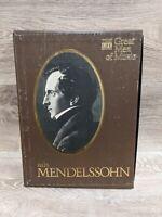 Time Life Great Men Of Music Felix Mendelssohn 4 Cassettes Boxset