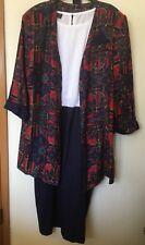 Women's Vintage Jacket Dress, Multi-Color, Special Thyme Ltd, sz 20W