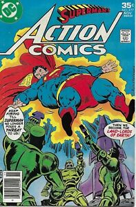 Superman Action Comics 477 Bronze Age First Print 1977 Gerry Conway Swan DC