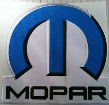 "MOPAR Patch 8 1/2"" x 8"" Iron-On PLYMOUTH DODGE CHRYSLER HOT ROD DRAGSTER"