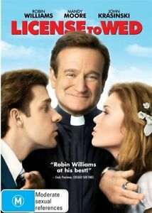 License To Wed (DVD, 2013)**R4*Excellent Condition**Robin Willaims