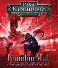 Brandon Mull: Five Kingdoms: Crystal Keepers 3  Unabridged CD *NEW* FAST Ship!