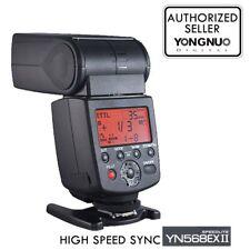 Yongnuo YN-568EX II Flash Speedlite HSS TTL for Canon T3i T2i 6D 7D 60D 700D