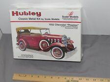 Vintage Hubley 1932 Chevrolet Phaeton 1:20 Scale Metal Model Kit SEALED