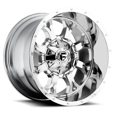 (4) 20x9 Fuel Offroad Chrome Plated Krank Wheels 8x170 For 03-19 F-250 F-350