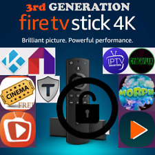 Unlocked Fire TV stick 4K LATEST 18.4 ALEXA REMOTE 3Rd GENERATION