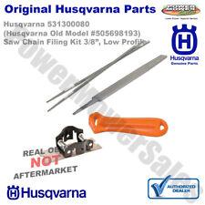 "Husqvarna Filing Kit for 3/8"" Low Profile (Mini) Pitch Chainsaw Chain 531300080"