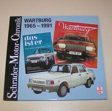 Wartburg 353 / 1.3  von 1965 bis 1991 - Schrader-Motor-Chronik!