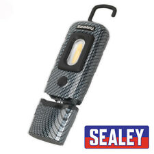 SEALEY LED3601CF RECHARGABLE 360 INSPECTION LAMP 2W COB LED CARBON FIBRE