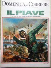 La Domenica del Corriere 5 Dicembre 1967 Piave Sterlina Debray Radio TV Surreali