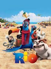 Rio Movie Poster 24x36 textless art