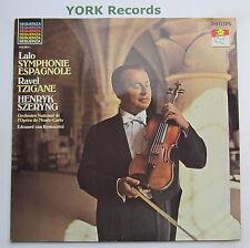 412 363-1 - LALO - Symphonie Espagnole / RAVEL - Tzigane SZERYNG - Ex LP Record