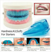 A1 hardness Dental Mouth Guard Bruxism TMJ Night Teeth Tooth Grinding Sleep Aid