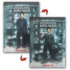 "Robert Downey 3D Lenticular Movie Poster Sherlock Holmes 12x16"" Rare #PO12X16SH#"