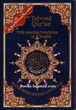 Tajweed Qur'an with English Translation (Royal Mail RECORDED POST)