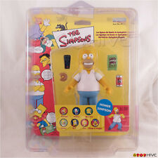 The Simpsons - Homer Simpson action figure Bandai logo with ProTech case