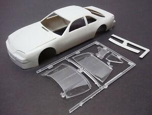 BODY - 1996-1997 NASCAR FORD THUNDERBIRD STOCK CAR BODY & GLASS - 1/25 SCALE